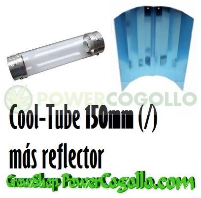 Reflector Cool Tube 150mm más Reflector Liso o Stuco 1