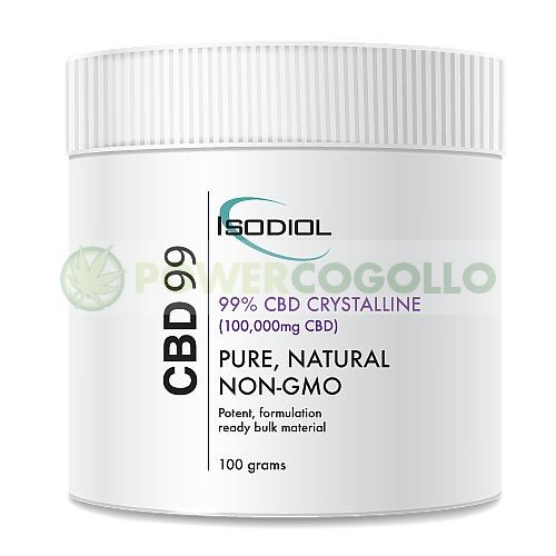 Cristales Isodiol CDB 99% 100gr. 0