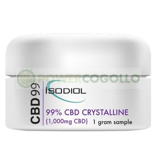 Cristales Isodiol CDB 99% 1gr. 0