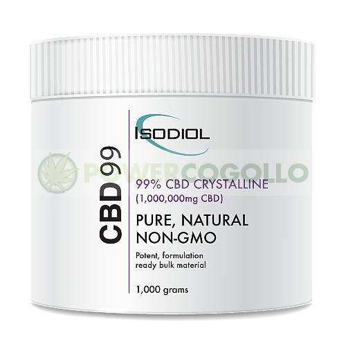 Cristales Isodiol CDB 99% 1KG 1