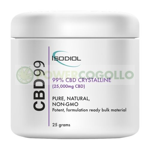 Cristales Isodiol CDB 99% 25gr. 1