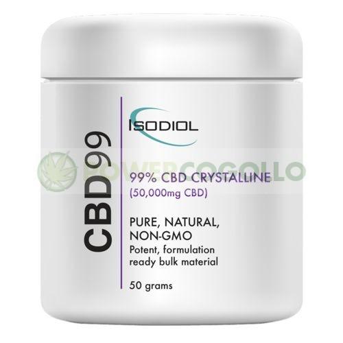 Cristales Isodiol CDB 99% 50gr. 1