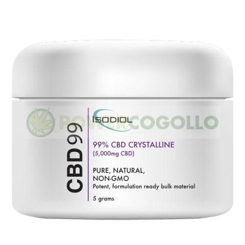 Cristales Isodiol CDB 99% 5gr. 1