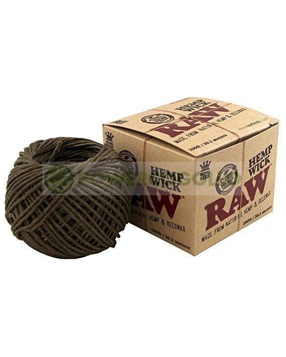 Cuerda de Cáñamo Raw Hemp Wick-30.5 mt 0