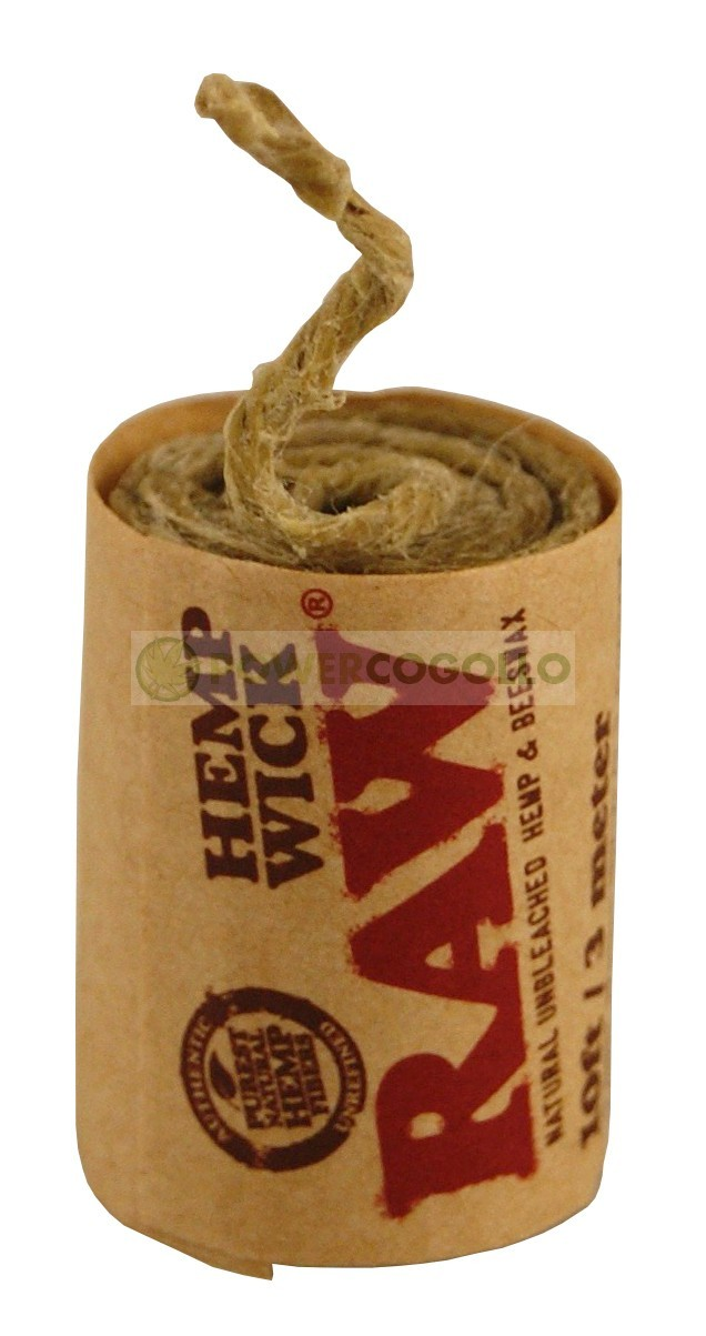 Cuerda de Cáñamo Raw Hemp Wick 3mt 4