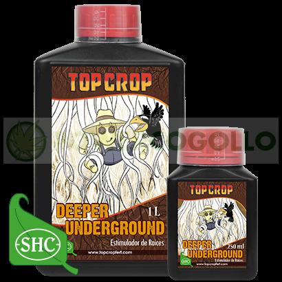 Deeper Underground (Top Crop) Estimulante de Raíces para el cultivo de Marihuana    Encuentra siempre los mejores Abonos y Fertilizantes para tus plantas en nuestros GrowShop PowerCogollo Tú Grow más Barato  Deeper Underground (Top Crop)  DEEPER UNDERGROU 2