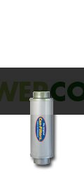 Filtro Antiolor Cultivo Can In-line 600 m³/h 150Ø 0
