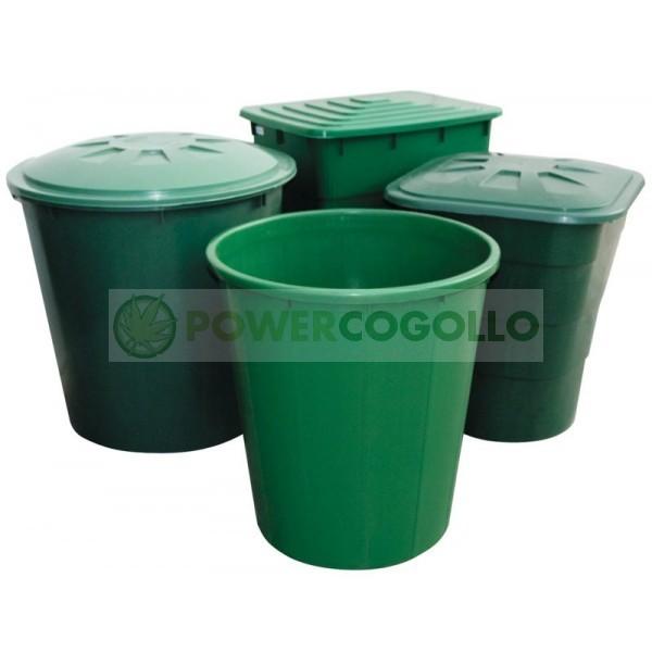 Depósito Cuadrado Verde para el riego en tu Cultivo Interior 0