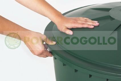 Depósito de agua Redondo Verde  1