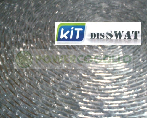 Plástico Reflectante Dis-Swat Aislante térmico máxima calidad 25 metros 0