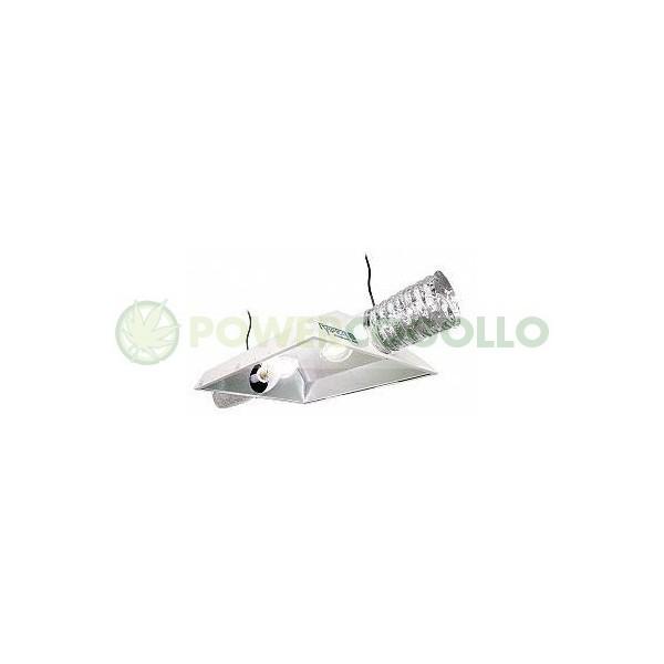 """Reflector Raptor 8"""" 200 mm AC Reflector Dual, con dos casquillos para 2 lámparas. 2"""