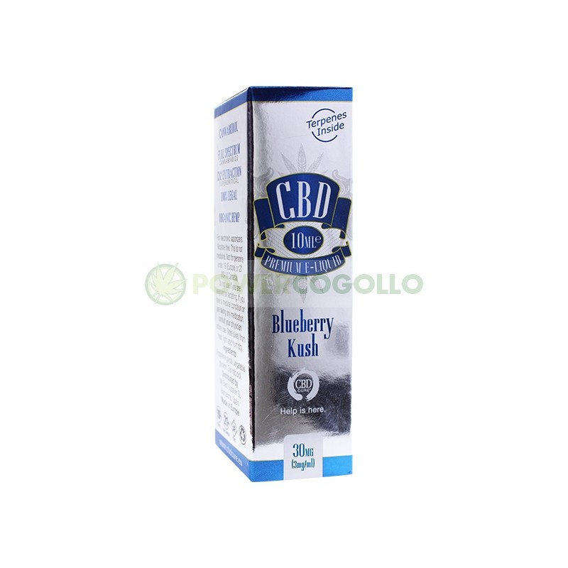 E-Liquid CBD Premium Blueberry Kush 10ml (CbdCure)  2