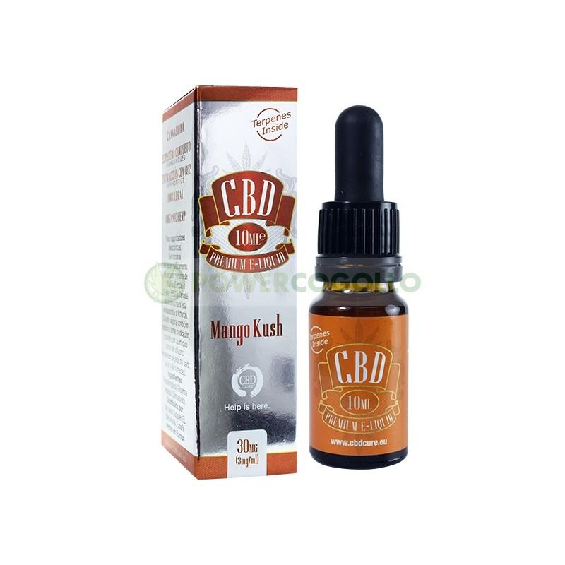 E-Liquid CBD Premium Mango Kush 10ml (CbdCure)  1