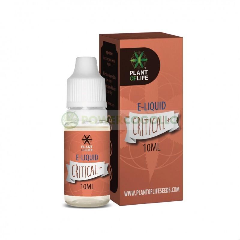 E-Liquid con Terpenos Critical-10ml-Plant of life 7