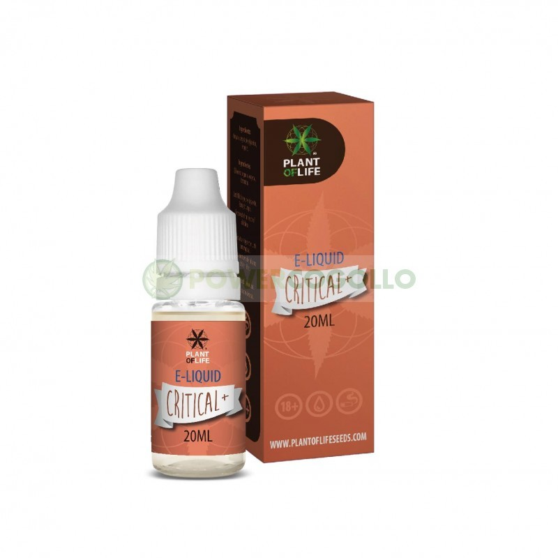 E-Liquid con Terpenos Critical 20ml-Plant of life 7