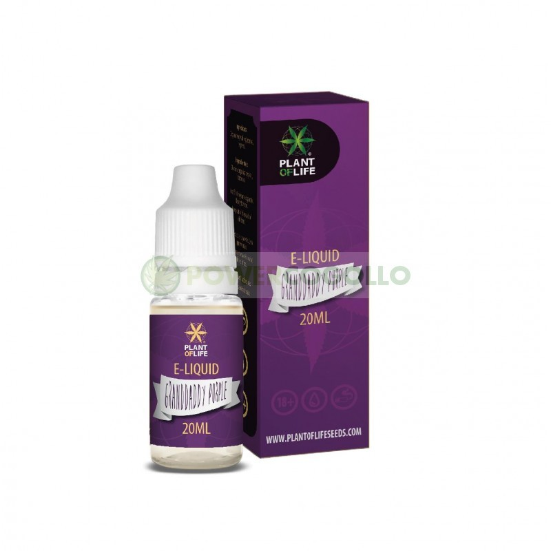E-Liquid con Terpenos Granddaddy Purple 20ml-Plant of life 3
