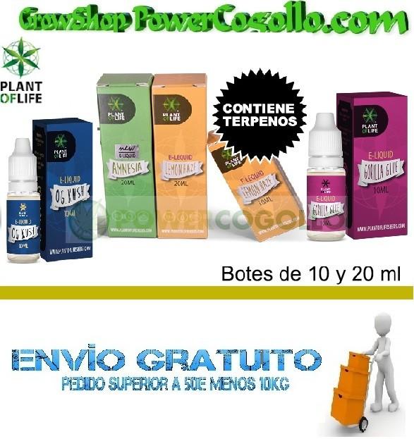 E-Liquid con Terpenos Marihuana (Plant of life) 0