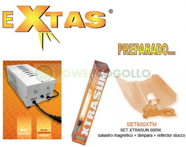 Kit 600w Xtrasun Reflector Stucco 0
