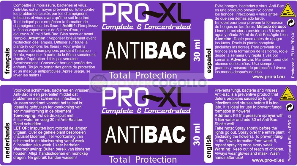 ANTI BAC PRO-XL 0