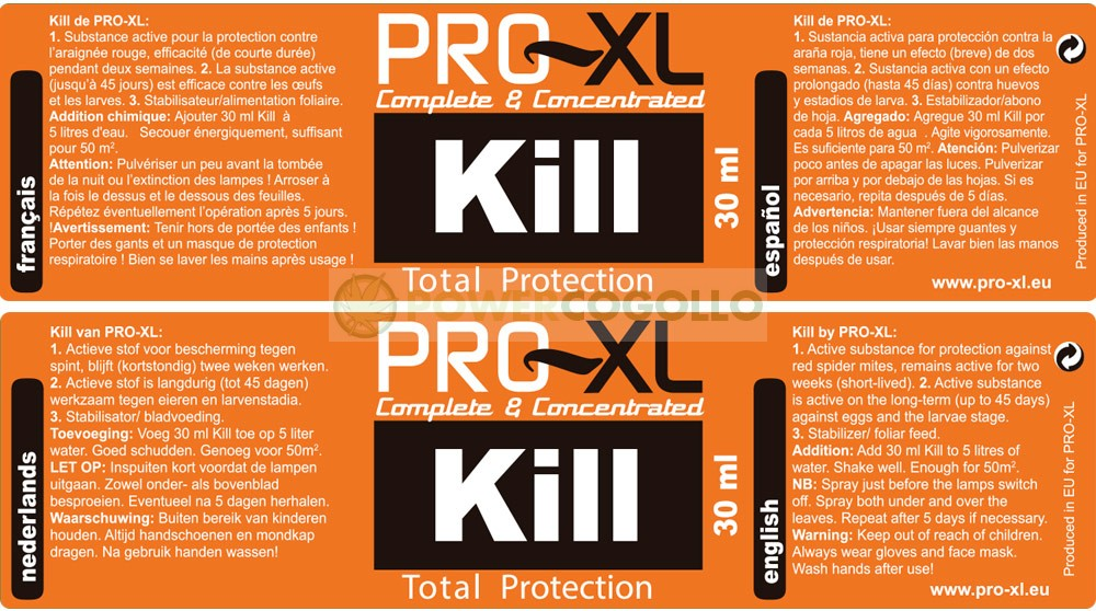 KILL PRO-XL  0