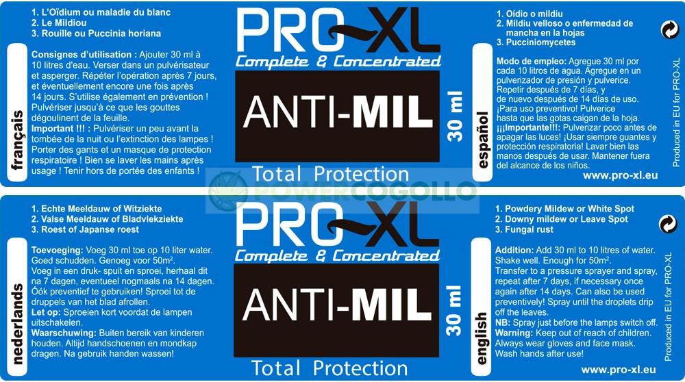 ANTI-MIL PRO-XL 0