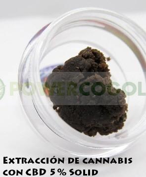 Extracción de CBD 5% Solid - Mango Kush 1