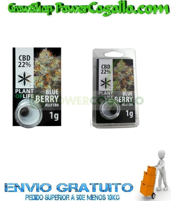 EXTRACTO CBD JELLY HASH 22% BLUEBERRY 0
