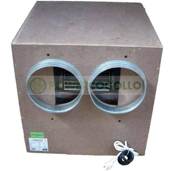 Extractor IsoBox Caja Madera MDF Insonorizado 1
