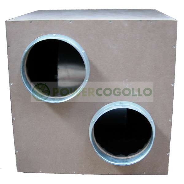 Extractor IsoBox Caja Madera MDF Insonorizado 0