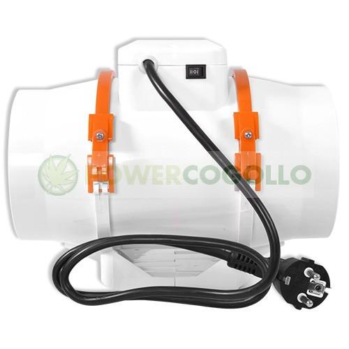 Extractor TT 125 Smart Dual (220-280m3/h) Cornwall  para el Cultivo interior. 1