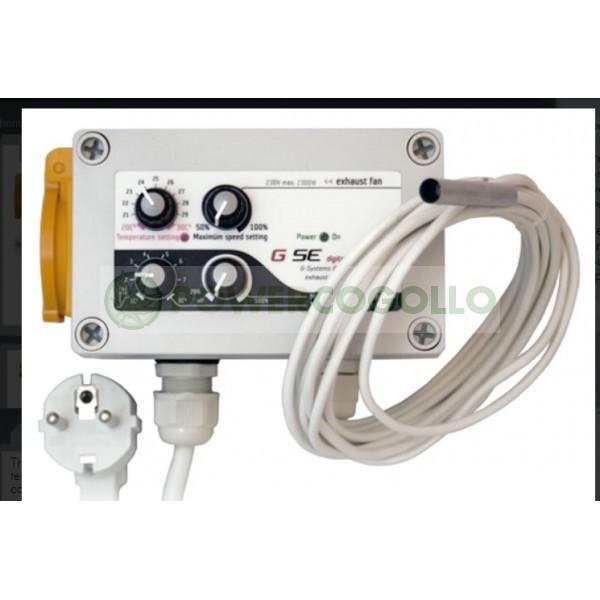 Controlador de temperatura, velocidad mínima y máxima e histéresis 1