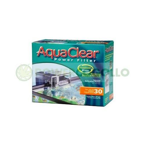 Filtro Aquaclear 30  oxigena y filtra el agua 1