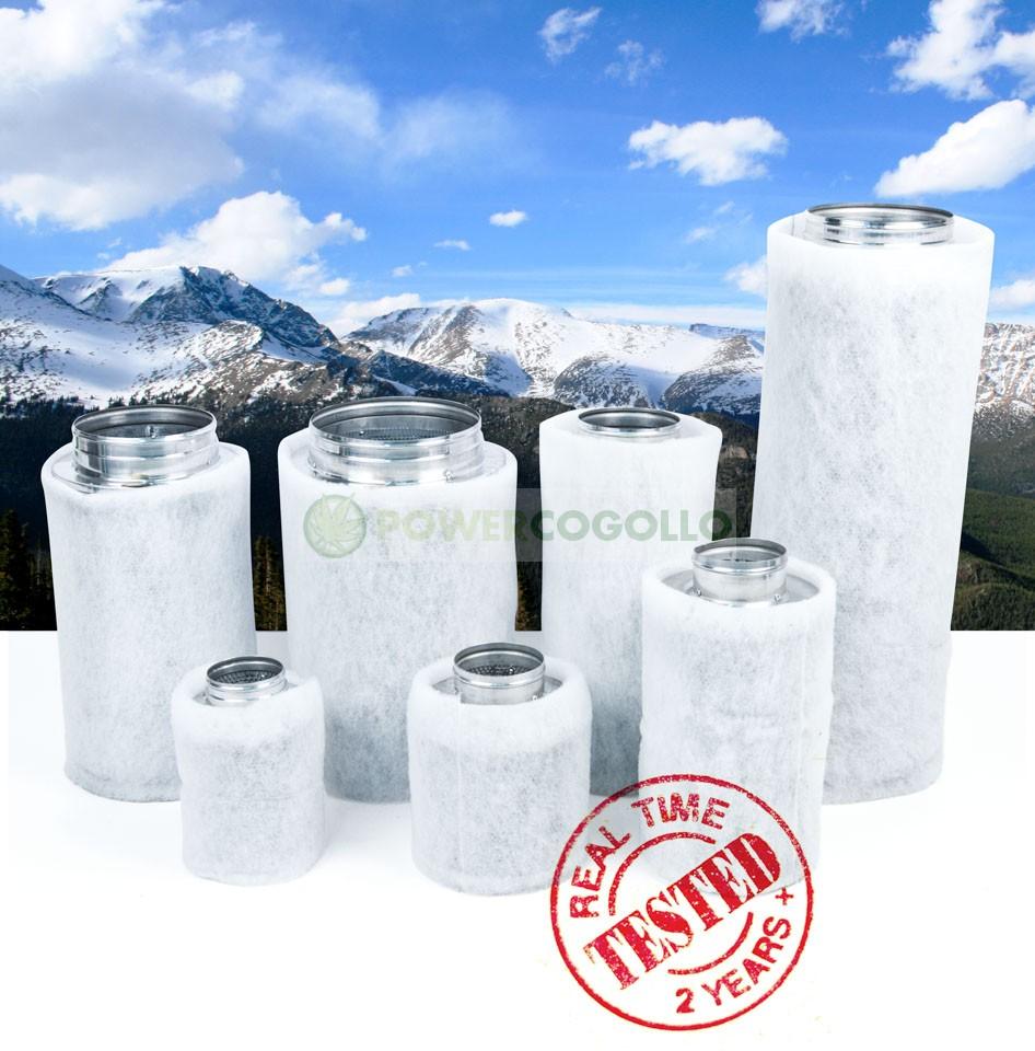 Filtro Carbón Mountain AIR 100/250 237m3/h  2