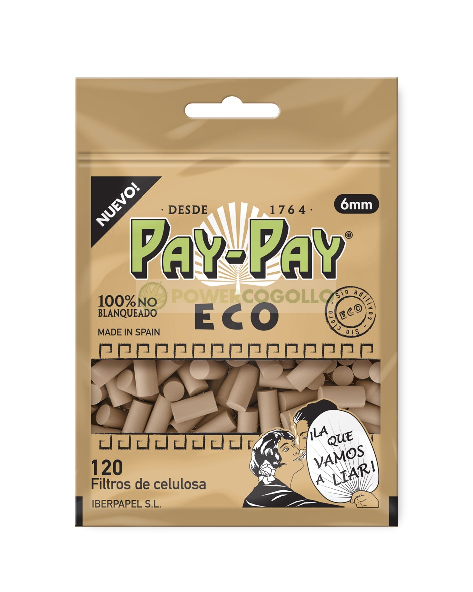 Filtros Pay-Pay Eco 6mm Biodegradables 0