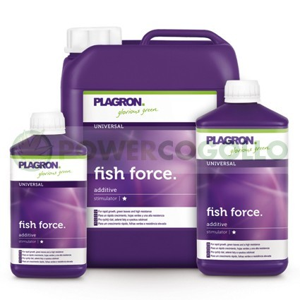 Fish Force Plagron abono de pescado para tu Cultivo 0