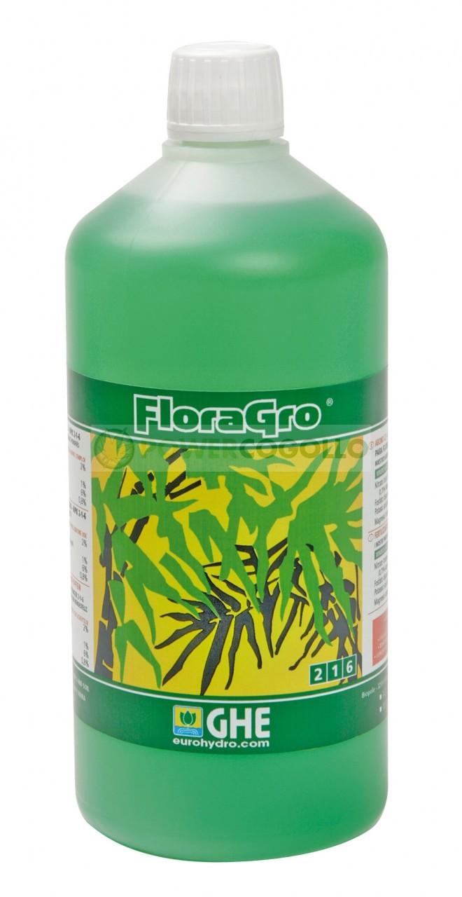 Abono Flora Gro de General Hydroponics para tierra, coco e hidro. 0