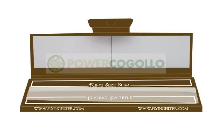 Papel Flying Brown King Size Slim + Boquillas 1