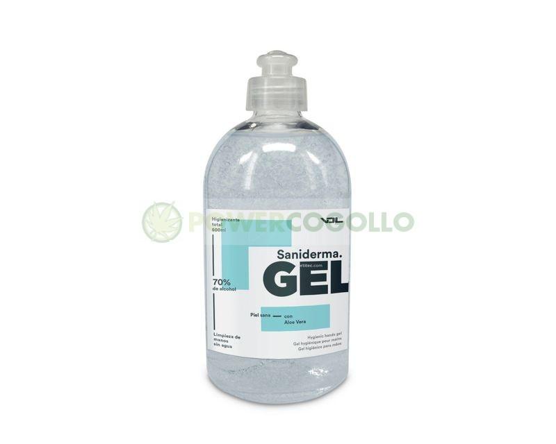 Gel Hidroalcohólico Saniderma 500ml (VDL) 0