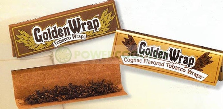 Papel Tabaco Golden Wrap KS  1