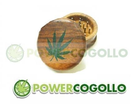 Grinder de Madera Hoja Marihuana 0