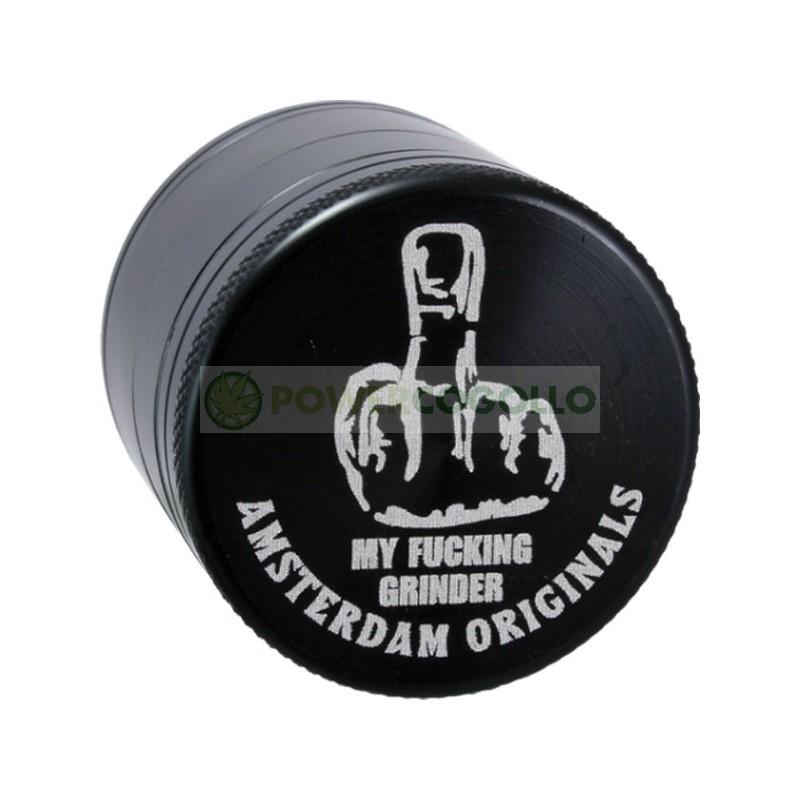 Grinder Aluminio Dedo 50mm 4 Partes-Amsterdam Originals 0