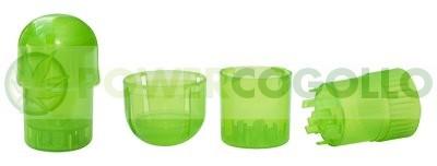 Grinder de Plástico 3 Partes, (Depósito y grinder) 2