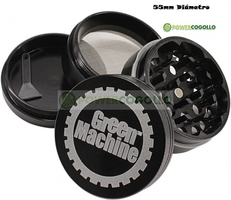 Grinder Green Machine 4 Partes Tamiz 55 mm 0