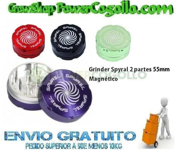 Grinder Spyral 2 partes 55mm 1