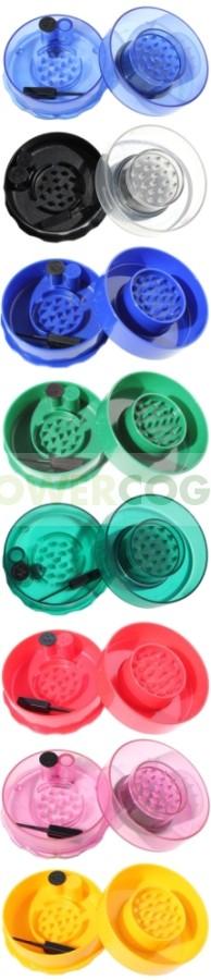 GrinderVac 0,07 litros (Bote Hermético de Bolsillo con Grinder) 2