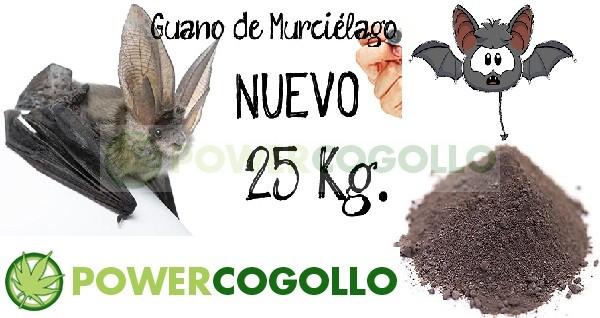 Guano de Murciélago 25kg 2