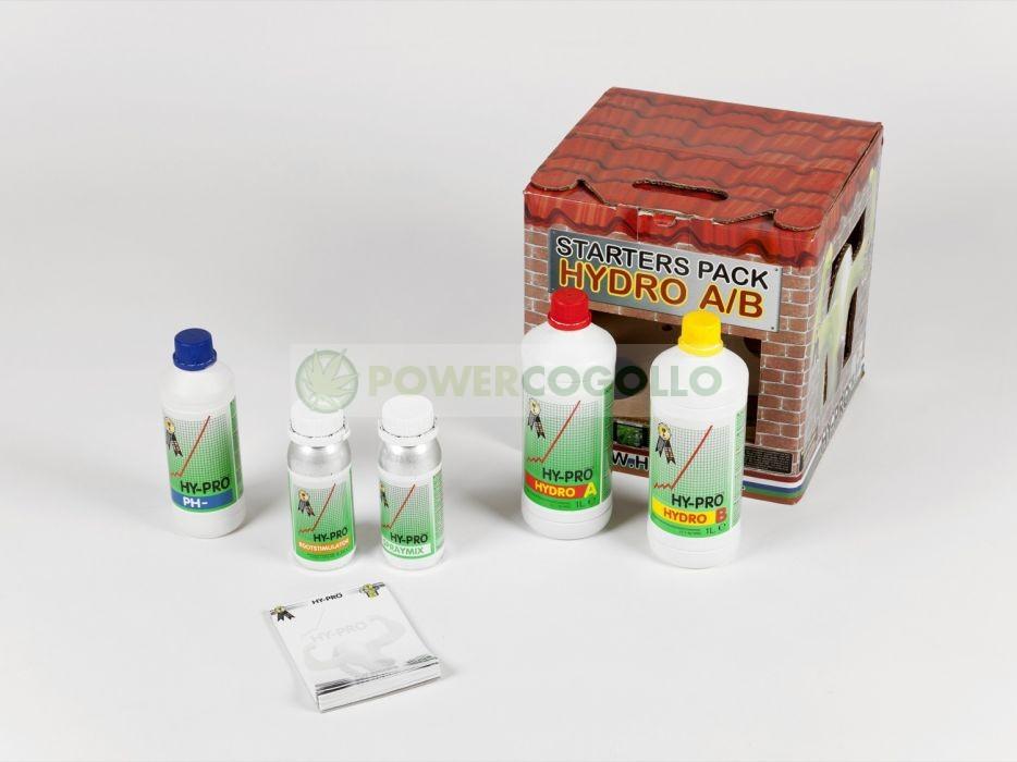 Pack Hydro A+B Pro Abono para Cultivo Cannabis 0