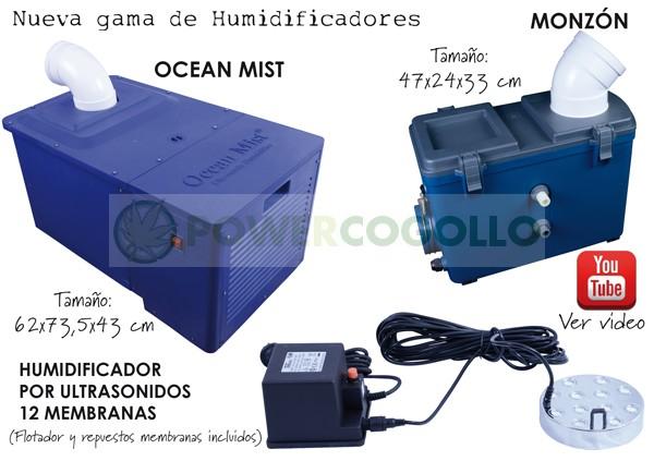 Humidificador Ocean Mist 0