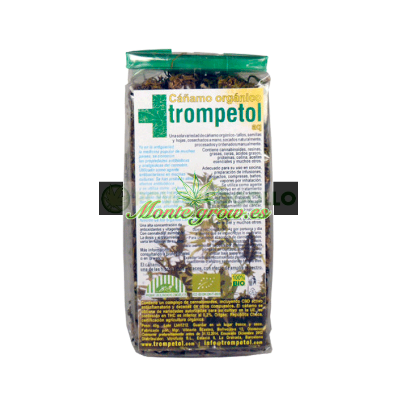 INFUSIÓN FLORES DE CÁÑAMO 50Gr (TROMPETOL) 1