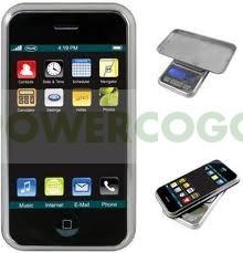 Balanza Precisión Digital Fuzion Iphone 100gr/0,01gr. 0